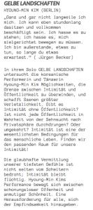 Ankündigung GELBE LANDSCHAFTEN (www.lofft.de)