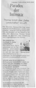 Gelbe Landschaften / Leipziger Volkszeitung